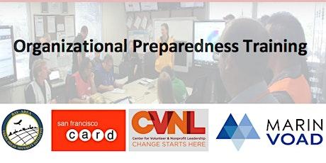 Organizational Preparedness Training tickets