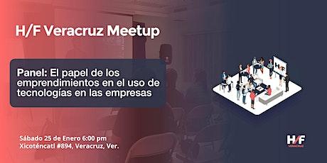 H/F Veracruz Meetup: Enero entradas