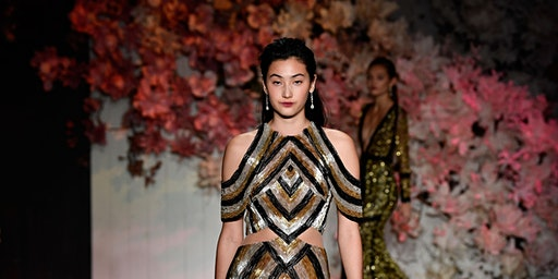Steven Khalil Runway at Mercedes-Benz Fashion Week Australia