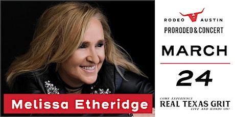 ProRodeo and Melissa Etheridge tickets