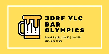 JDRF Bar Olympics tickets
