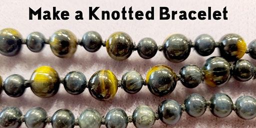 Make a Knotted Bracelet