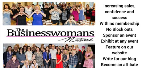 The Business Womans Network (Ipswich) - Speaker TBC masterclass plus productive networking.  tickets