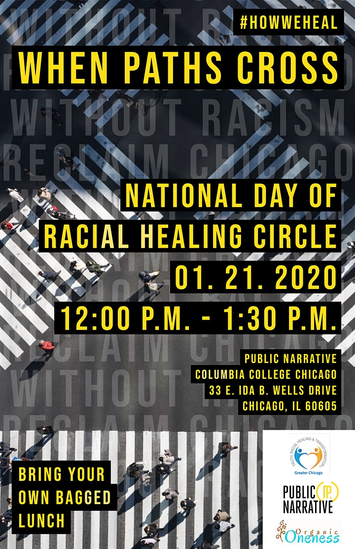 National Day of Racial Healing Circle: When Paths Cross image