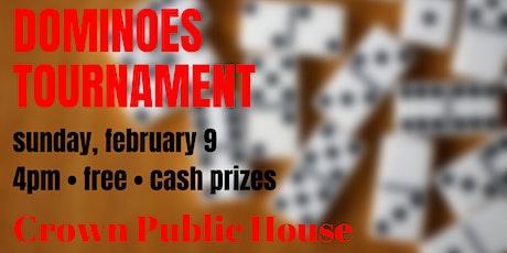 Dominoes Tournament tickets