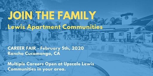 Lewis Apartment Communities: Career Fair