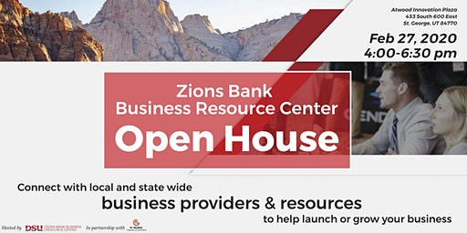 Zions Bank Business Resource Center Open House