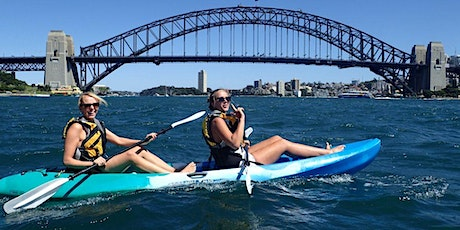 Women's 'Easy' Sydney Harbour Kayak // Saturday 28th March tickets