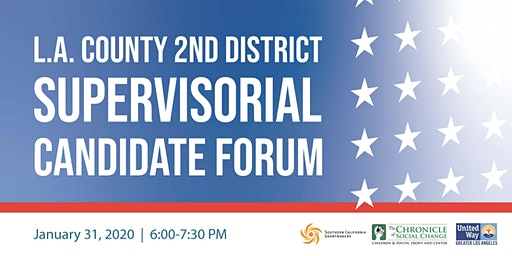 LA County Second District Supervisor Candidate Forum Creating a Bold Vision