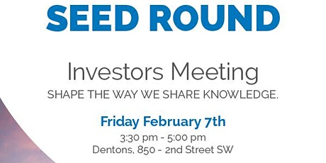 Seed Round Investor Meeting tickets