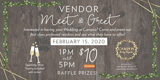 Wedding Vendor Meet and Greet