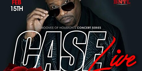 Case Live In Concert | Valentine's Day Weekend | RnB Concert Series tickets