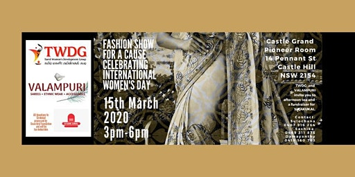Fashion Show for a Cause - Celebrating International Women's Day