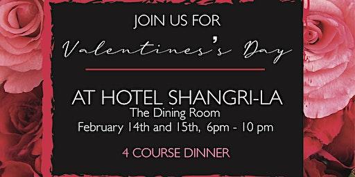 Valentine's Day at Hotel Shangri-La