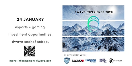 Esports+ Gaming Investment Landscape + 6Wave Soiree @ Seehof Hotel tickets