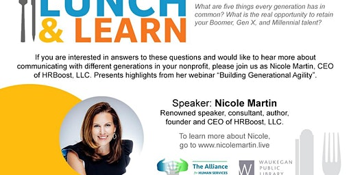 Alliance for Human Services Lunch & Learn | Building Generational Agility by Nicole Martin