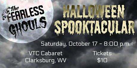 The Fearless Ghouls Halloween Spooktacular  tickets