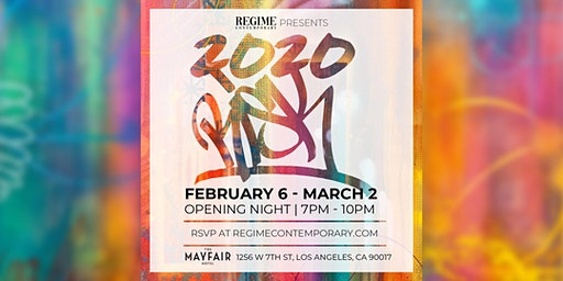 2020 RISK - Opening Night in the Regime Contemporary Gallery