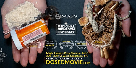 DOSED Documentary - Feb 18 with Q&A at the Magic Lantern Roxy Theatre! tickets