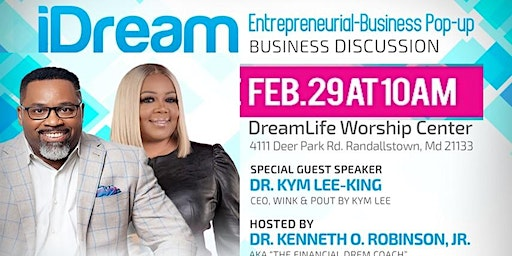 iDream Entrepreneural Business Pop-up Business Discussion