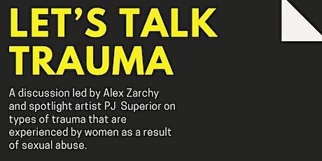 Let's Talk Trauma tickets