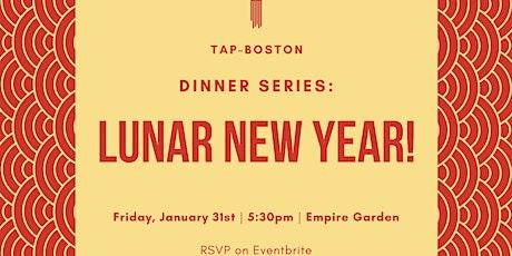 TAP Dinner Series: Lunar New Year! tickets