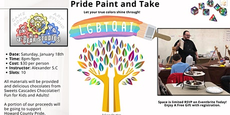 Pride Paint and Take tickets