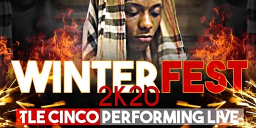 WinterFest 2k20 TLE Cinco Peforming Live
