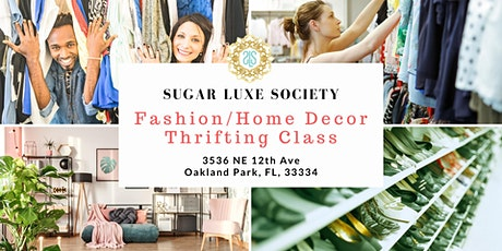 Fashion/Home Decor Thrifting Class tickets