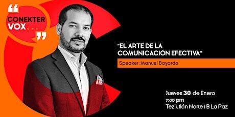 El Arte de la comunicación efectiva -5° Conekter Vox boletos