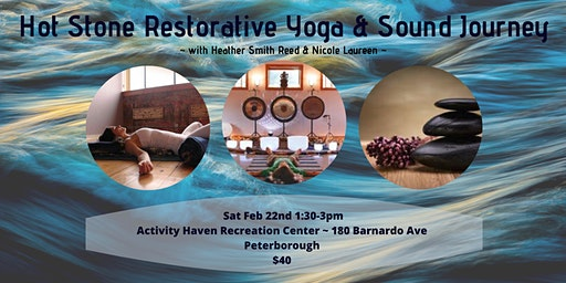 Hot Stone Restorative Yoga & Sound Journey