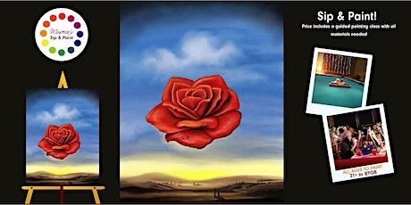 Museica's BYOB Sip & Paint: Dali's Meditative Rose  tickets