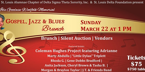 Ida Goodwin Woolfolk Memorial Gospel,Jazz & Blues Brunch