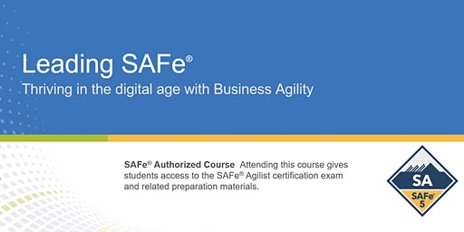 Leading SAFe® 5.0 Certification Training in Toronto, Canada