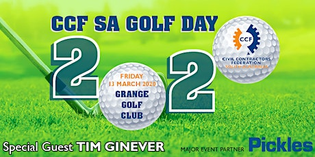 CCF SA Golf Day 2020 tickets