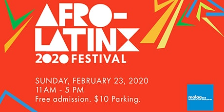 Afro-Latinx Festival at MOLAA tickets