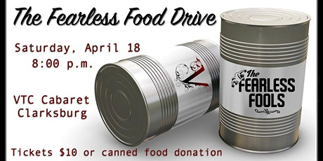 The Fearless Food Drive at The VTC Cabaret  tickets