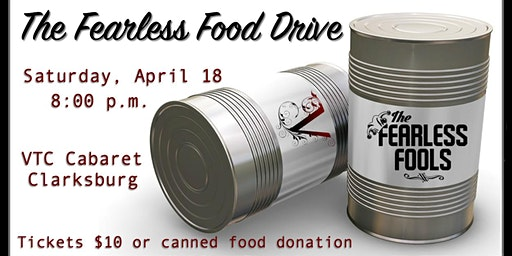 The Fearless Food Drive at The VTC Cabaret