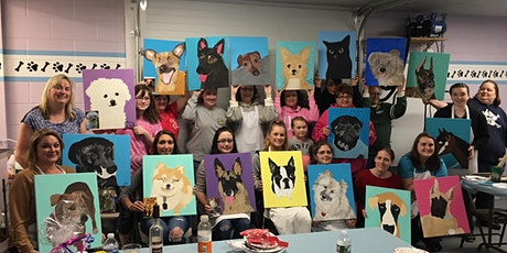 Paint Your Pet-Dinner and Paint Class at Collingswood Pop Shop tickets