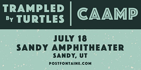 Trampled By Turtles & Caamp tickets