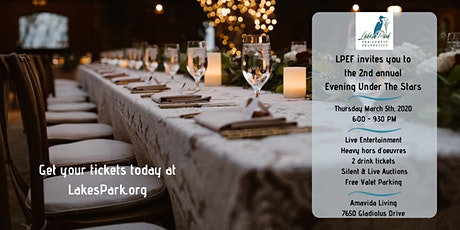 An Evening Under the Stars - hosted by the Lakes Park Enrichment Foundation  tickets