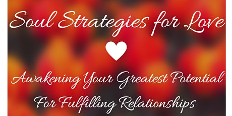 Soul Strategies For Love tickets