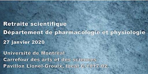 Retraite scientifique - Département de pharmacologie et physiologie