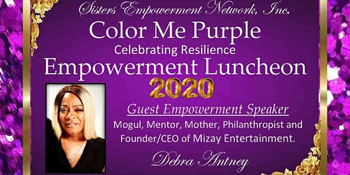 COLOR ME PURPLE  CELEBRATING RESILIENCE  EMPOWERMENT LUNCHEON