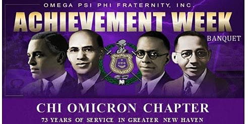 Omega Psi Phi Chi Omicron Chapter Presents Achievement Week Banquet