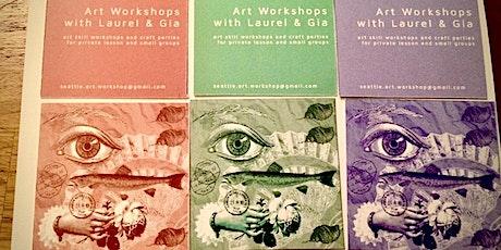 Seattle Art Workshop: Valentine's Edition (in Melrose Market Loft) tickets
