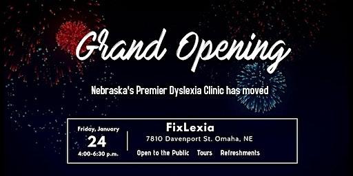 Grand Opening FixLexia