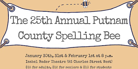 "VCDS Presents ""The 25th Annual Putnam County Spelling Bee"" tickets"