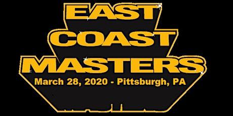 East Coast Masters 2020 tickets