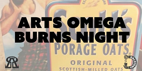 Arts Omega Burns Night tickets